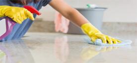 تنظيف أسطح المطبخ